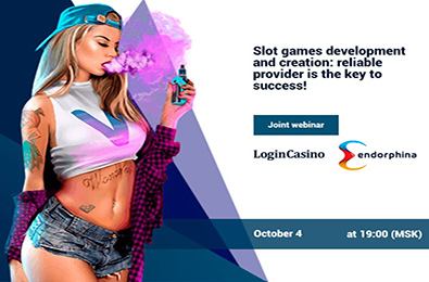 Login Casino & Endorphina Joint Webinar is Coming Soon!