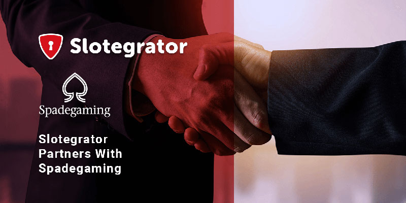 Slotegrator announces partnership with Spadegaming