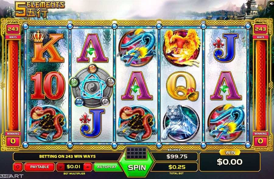 Five Elements Slot Machine Online ᐈ GameArt™ Casino Slots
