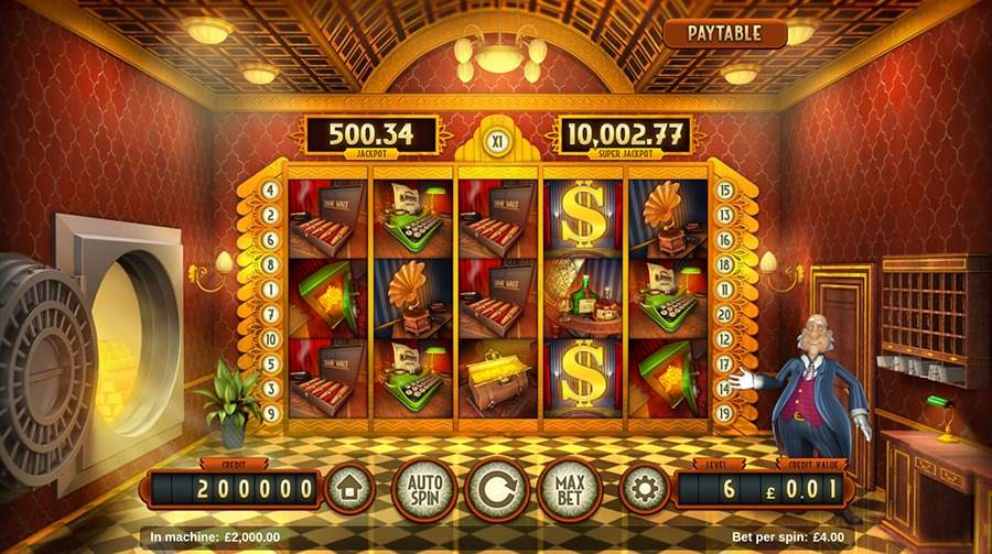 Bank Walt Slots - Play this Game by Magnet Gaming Online