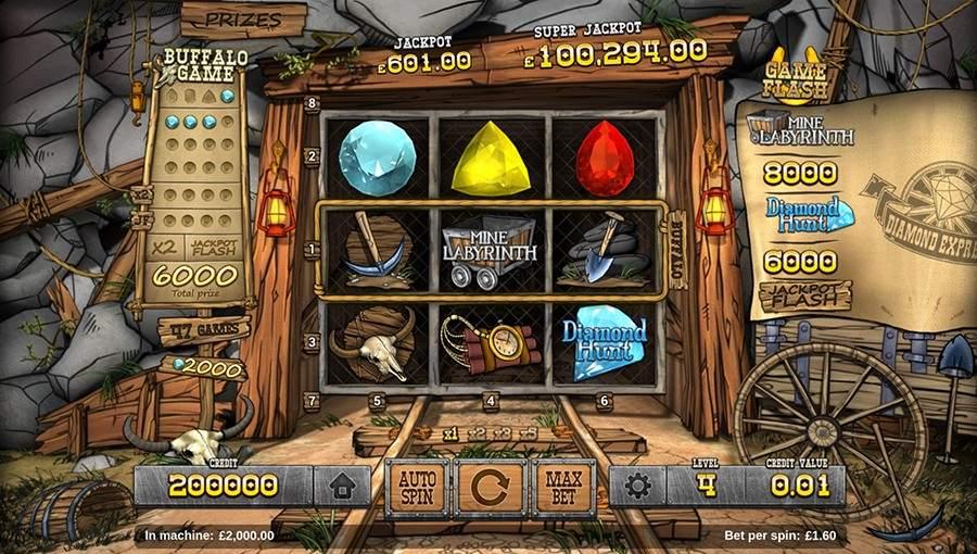 Golden Diamond Slot Machine
