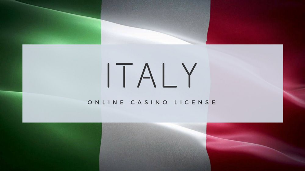 Italy online casino license