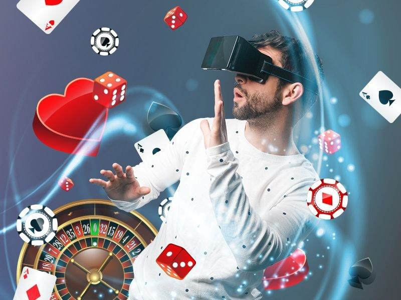Creation of the VR casino games