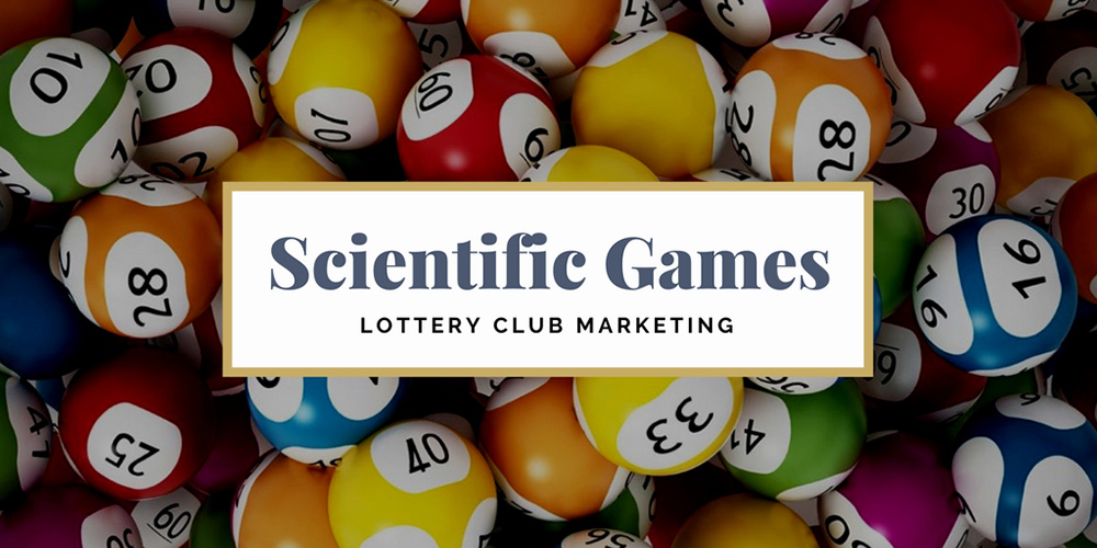 Lottery club marketing by Scientific Games