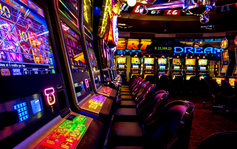 Firmware and boards for casino slot machines