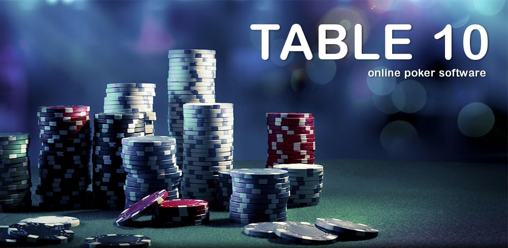 Online poker soft for live-casinos by Table 10
