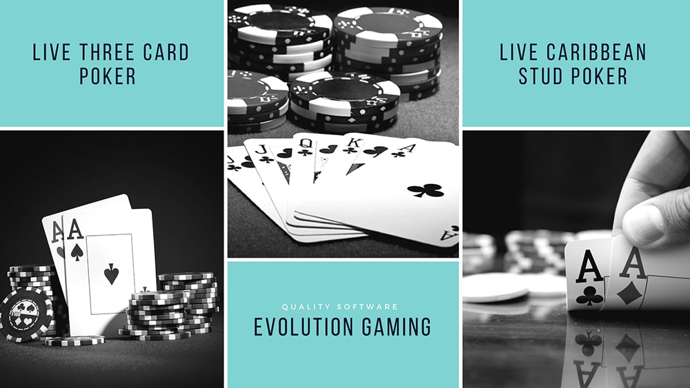 Top-quality online poker software from Evolution Gaming